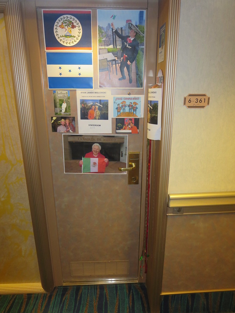 Carnival Glory Cruise Ship Interior Stateroom Cabin Door D