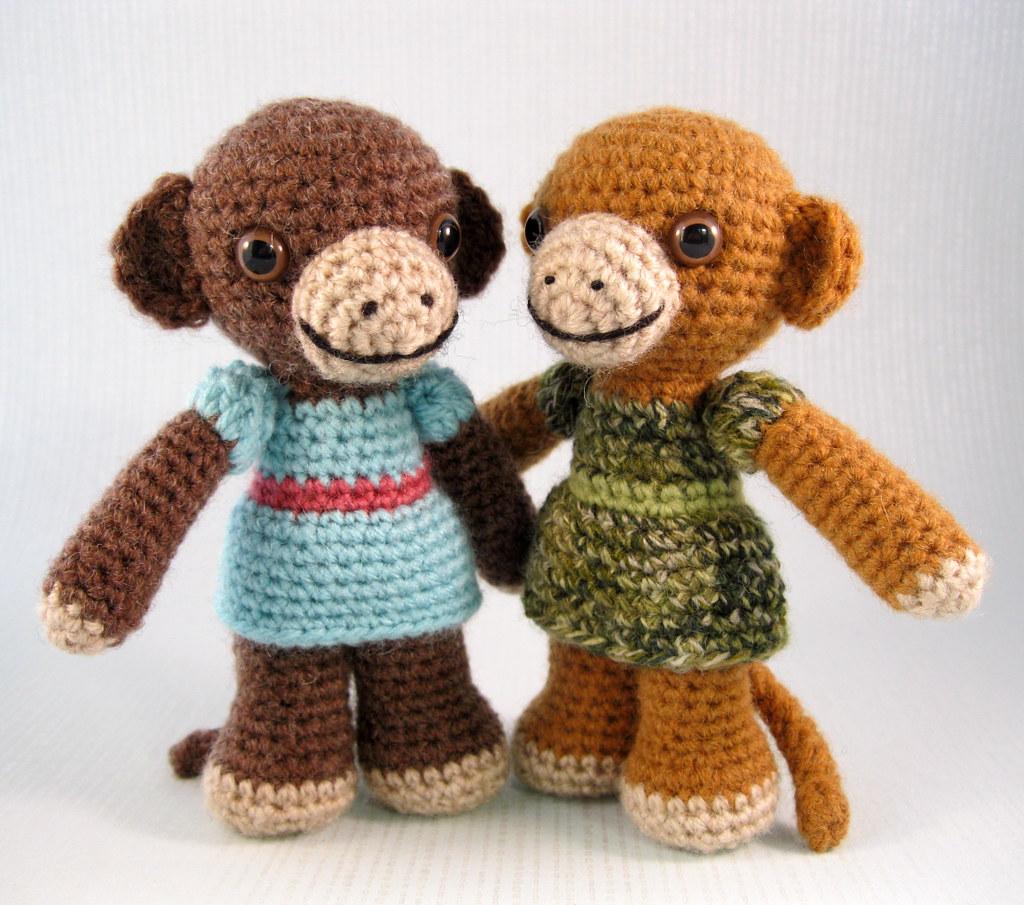 Ravelry: Little Monkey pattern by Anastasia Kirs | 905x1024