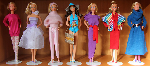 Misc. 80s Barbie fashions