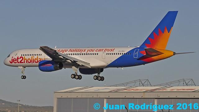 G-LSAJ - Jet2 -  Boeing 757-236 - PMI/LEPA