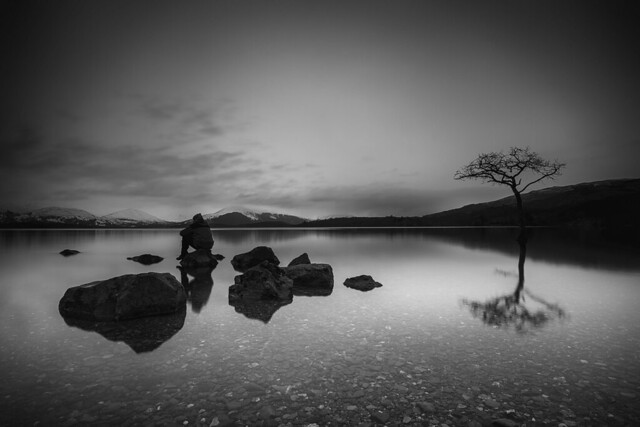 Some time to chill .......Milarrochy bay Loch Lomand Scotland