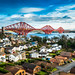 North Queensferry and the Forth Bridge