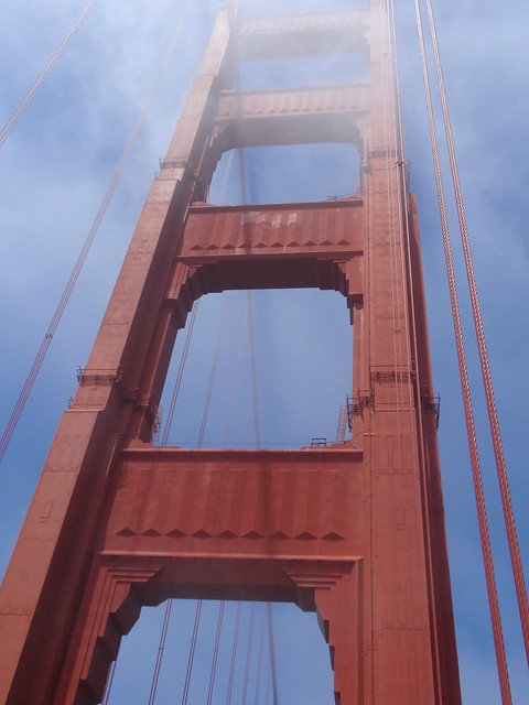 Golden Gate Bridge Tower, San Francisco