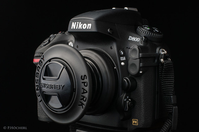 Nikon D800 with Lensbaby Spark