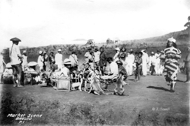 Baguio Market, Northern Luzon, Baguio City, Philippines 1911