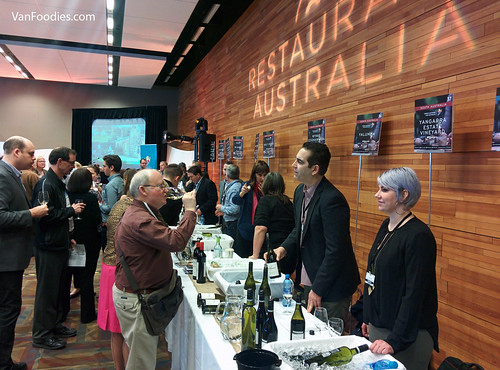 Restaurant Australia Event at Vancouver International Wine Festival | by VanFoodies