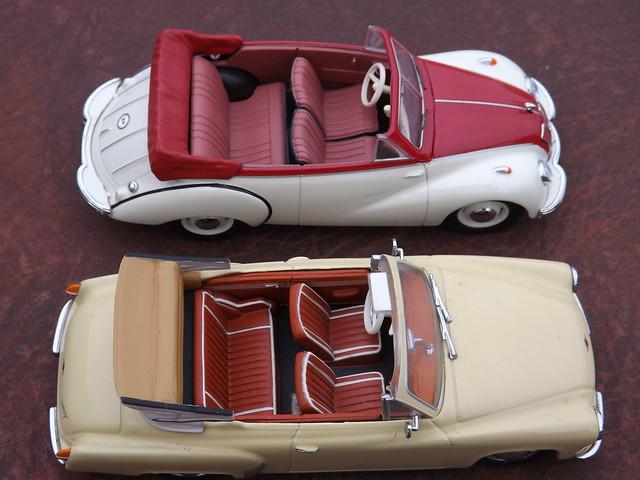 IFA F9 Cabriolet c.1953 & Wartburg 312 Cabriolet c.1959