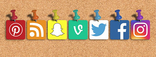Social Media Mixed Icons  - Banner | by Visual Content