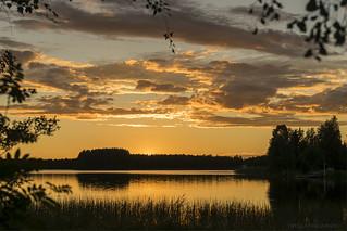 Sunset | by Tatu Lappalainen