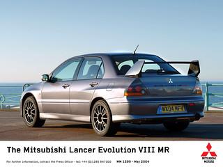 2003-2005 Mitsubishi Lancer Evolution (MR) VIII - 01   by Az online magazin