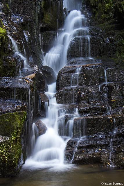Closer View of Eastatoe Falls
