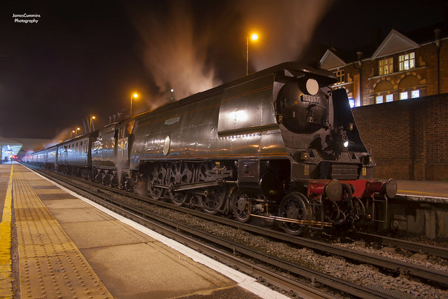Night Time Bulleid