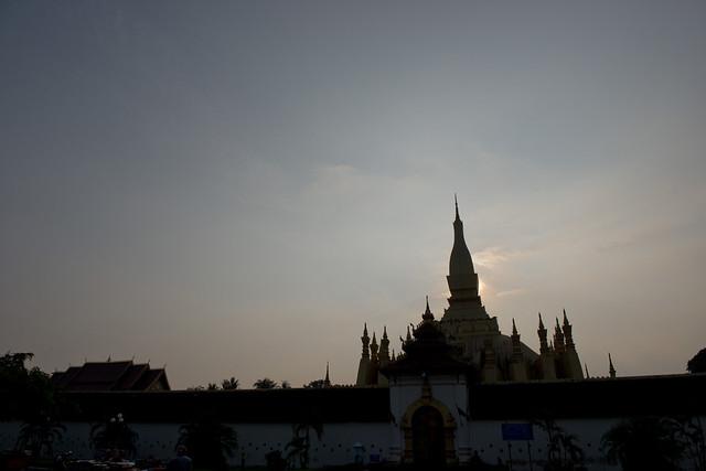 LAO103 Pha That Luang - Vientiane 07 - Laos