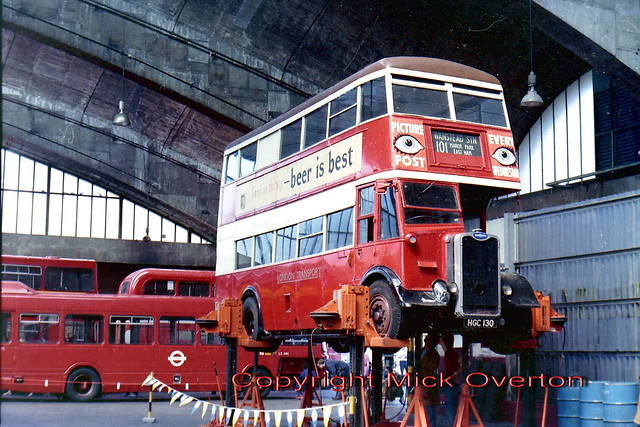 Preserved 1946 Guy Arab  G351 seen at Stockwell 1983 openday