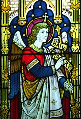 Gabriel at the Annunciation