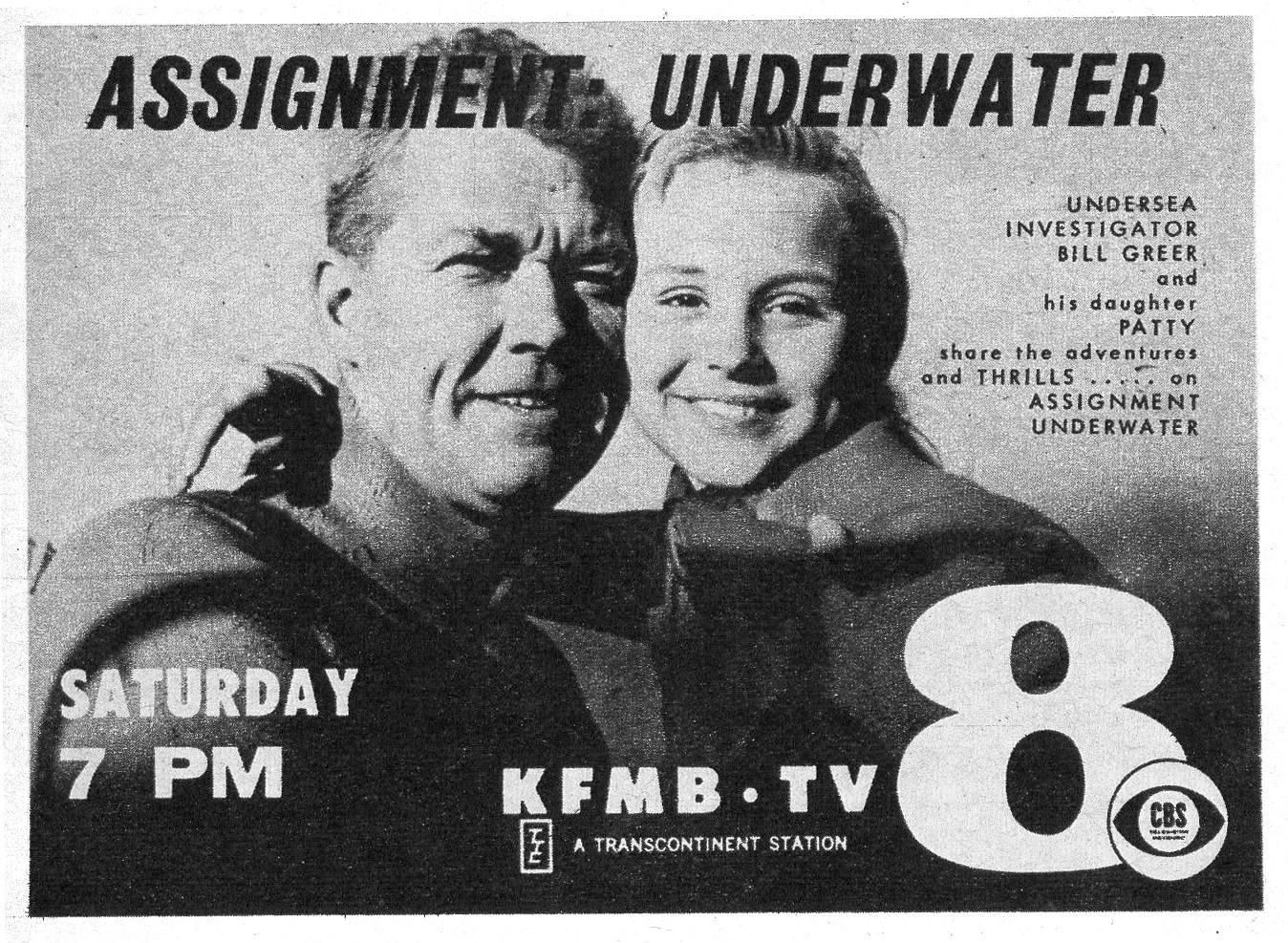 """Assignment Underwater"" TV Show | Vintage Scuba Diving ..."
