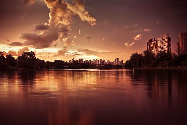 Sunset  / Lago Igapó / Igapó lake