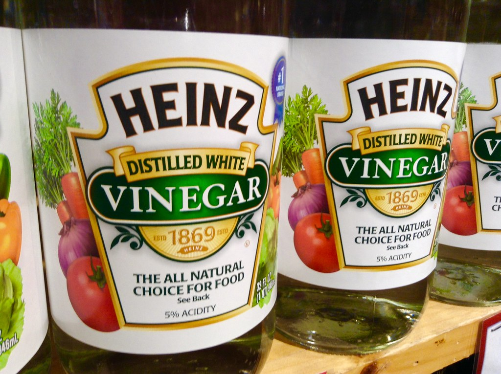 Heinz White Vinegar, 12/2014, Pic by Mike Mozart of TheToyChannel and JeepersMedia on YouTube. #Heinz #Vinegar