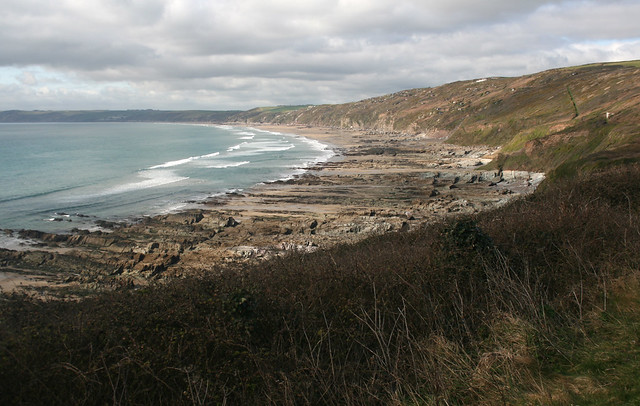 Whitsand Bay from Rame Head