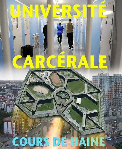 Carceral University of France: courses in hate & breeding ground for terrorists