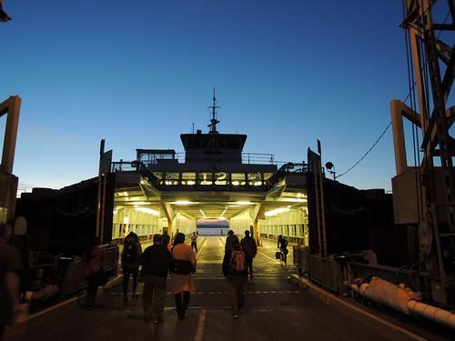 Walk-ons boarding M/V Tilllikum @ Fauntleroy ferry terminal | by planet_lb