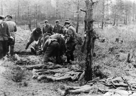 Cuerpos hallados en el Bosque de Katyn