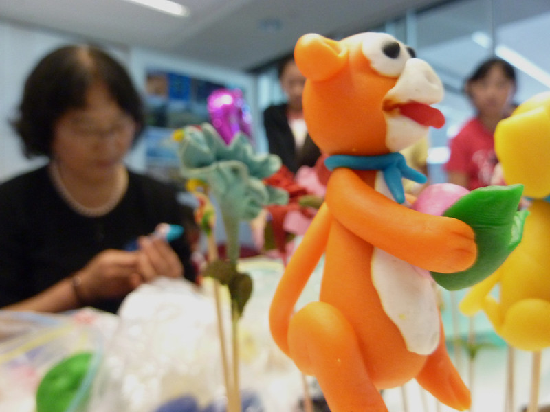 Exquisite dough sculpture - Chinese Lunar New Year festivities at Upper Riccarton Library