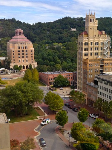 city 1920s urban skyline skyscraper nc view asheville cityhall highrise jacksonbuilding