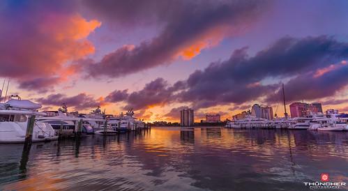 sunset sky nature colors clouds reflections landscape outdoors florida sony tropical fullframe fx palmbeach atlanticocean intercoastal yachtclub waterscape a7r southeastflorida sonya7r zeissfe1635mmf4zaoss