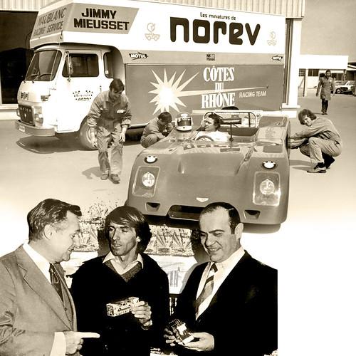 1971 - Jimmy Mieusset / Joseph Véron - Jacques Lafitte - Guy Ligier | by norev.official