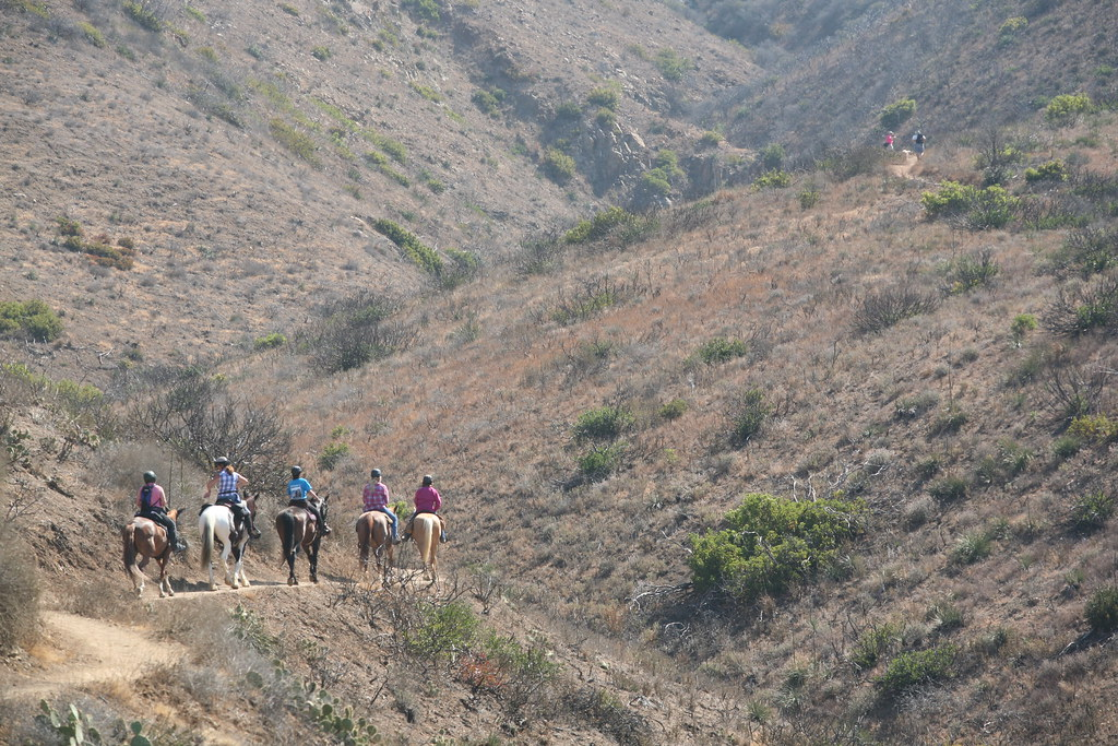 Horseback Riding The Backbone Trail Ruth Gerson Is A Longt Flickr