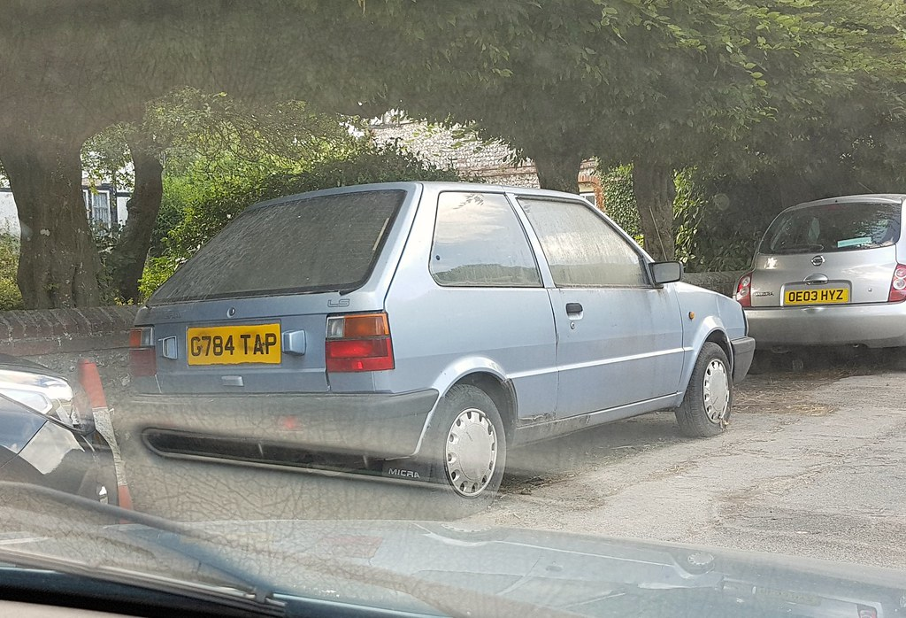 1990 Nissan Micra LS | Hasn't moved in a long time, whenever