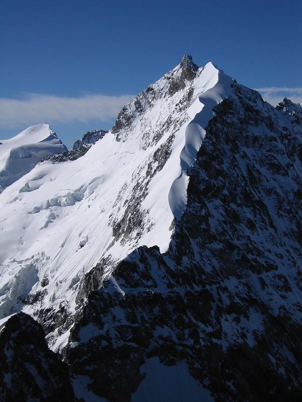 The Biancograt on PIz Bernina