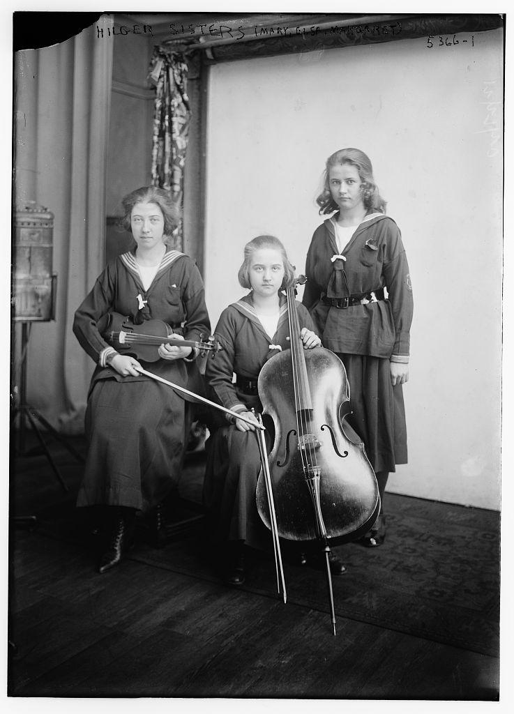 Hilger sisters (Mary, Elsa, Margaret) (LOC)