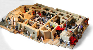 Blast from the Past: Tatooine Cantina MOC from 2010 | by marvelousRoland