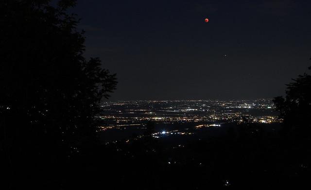 Eclissi di luna del 27 luglio 2018