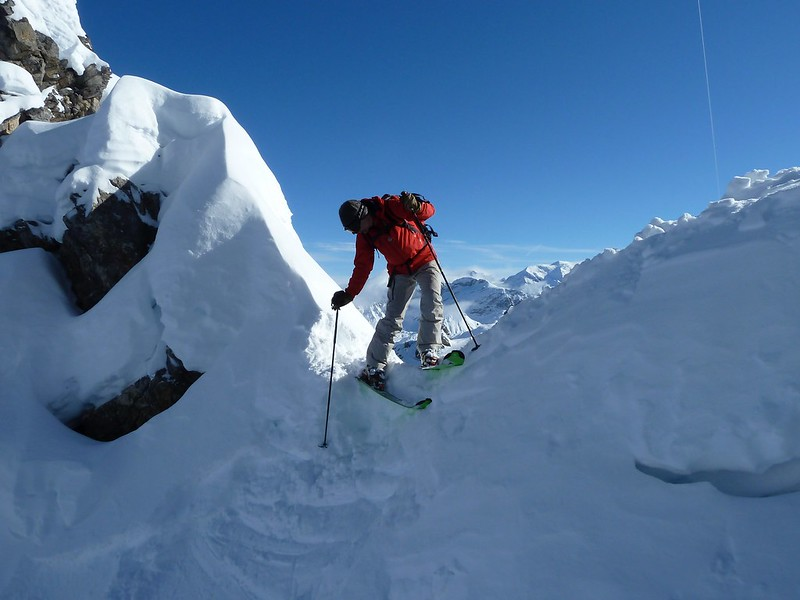 With the help of the Talented Mr Christy, I have been getting to grips with steeper terrain over the last few years