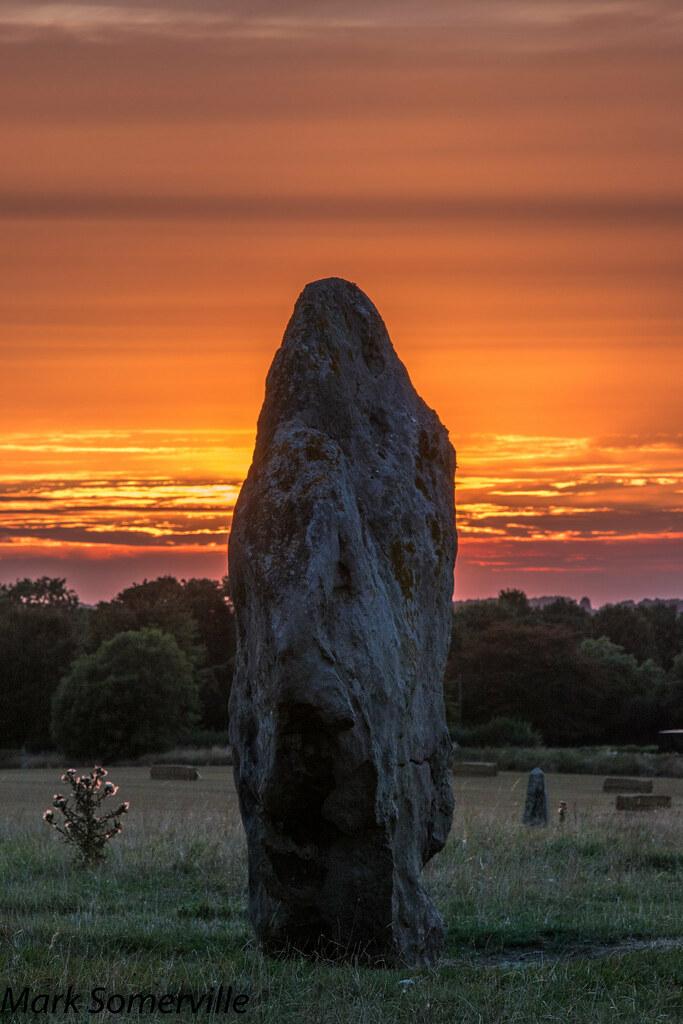 Avebury August sunset