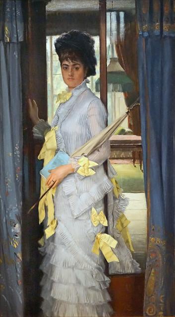 Un Portrait de James Tissot (Petit Palais, Paris)