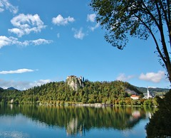 Lake Bled reflections (Slovenia)