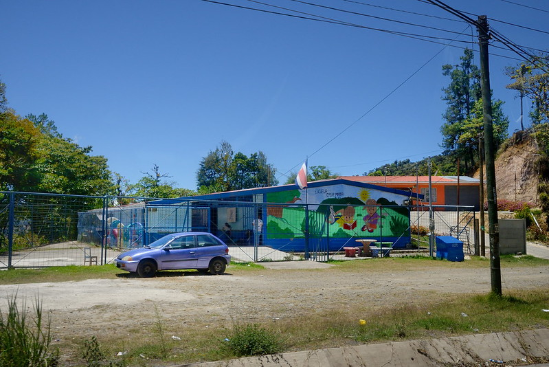 Schoold along road in Costa Rica 3-28-14