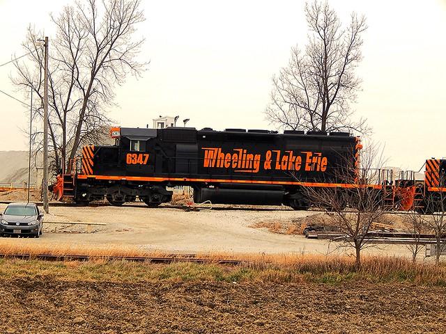 Wheeling and Lake Erie at Carey Ohio