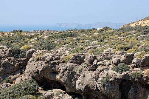 Kreta - Crete - Moni Toplou - Umland