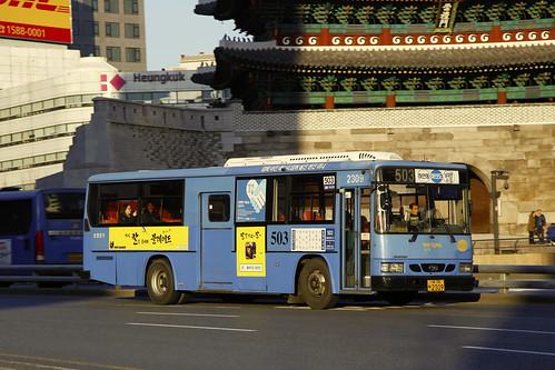 Seoul Bus 503 | Daewoo | BS106 | Namdaemun Road | by byeangel