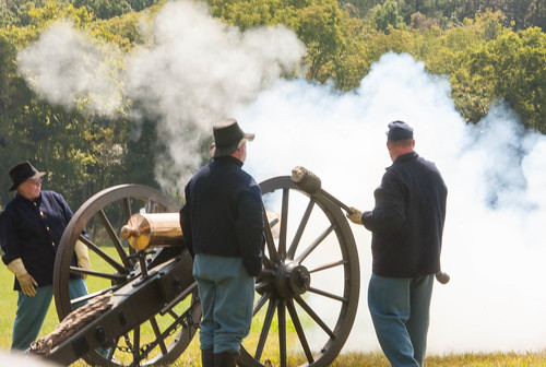 civil War Cannon Demonstration