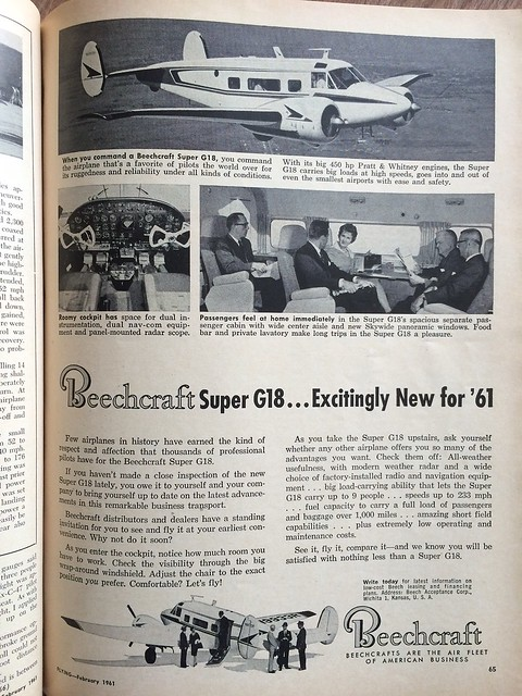 Beechcraft Super G18 for 1961