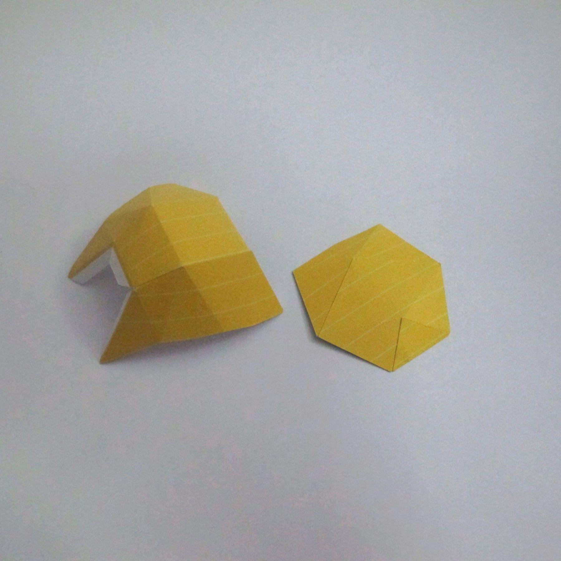 วิธีทำของเล่นโมเดลกระดาษ วูฟเวอรีน (Chibi Wolverine Papercraft Model) 009