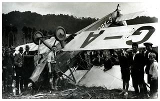 Australian aviator Guy Menzies