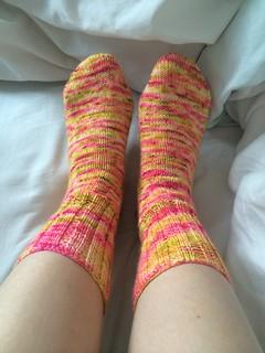 Gentlemen's Plain Winter Socks in Dutch Heels