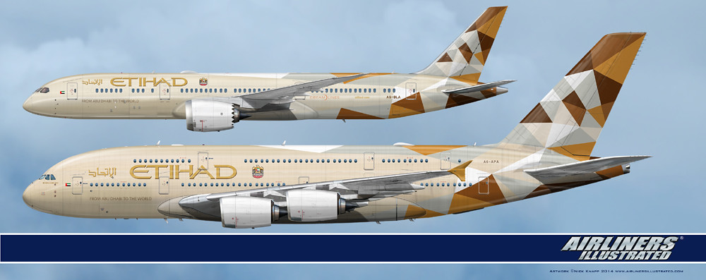 Etihad Airways Boeing 787-9 Dreamliner Airbus A380-861 A6-… | Flickr